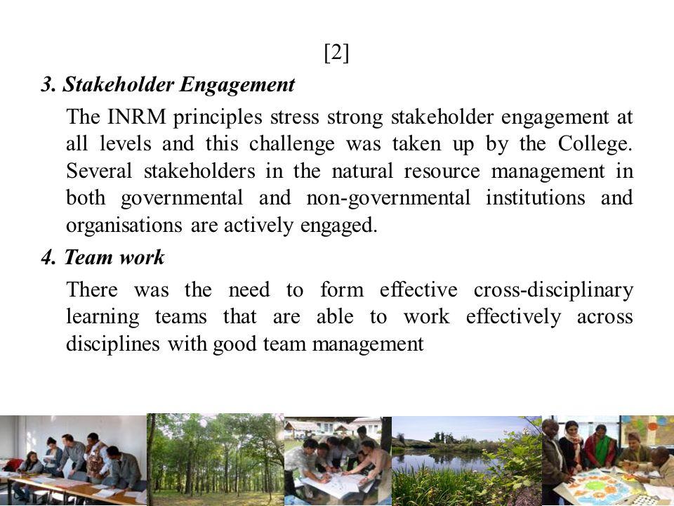 [2] 3. Stakeholder Engagement.